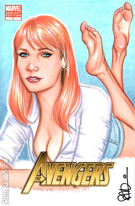 Barefoot Pepper Potts By Scottblairart On Deviantart
