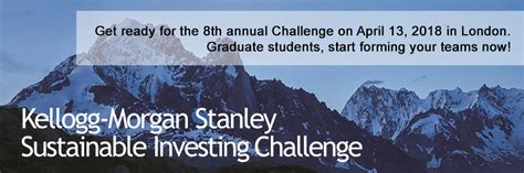 Kellogg Mba Sustainability by Kellogg Stanley Sustainable Investing Challenge