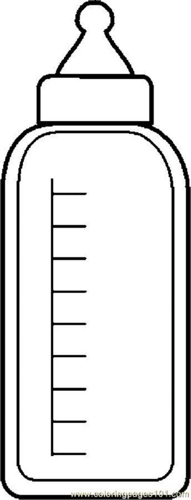 free coloring pages of water bottle