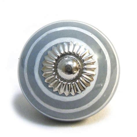 Grey Drawer Knobs by Grey White Ceramic Cupboard Drawer Door Knobs By Pushka
