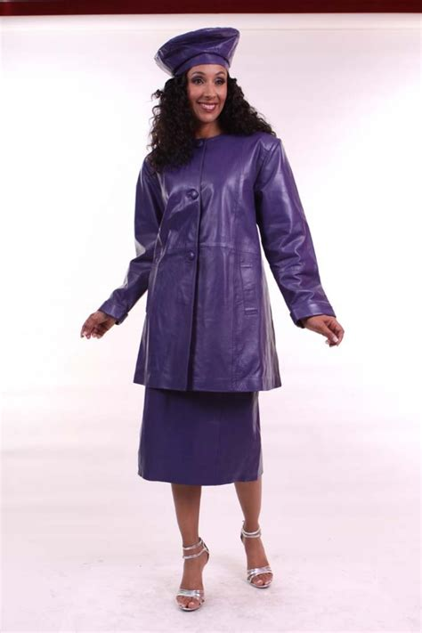 leather skirt suit dress ala