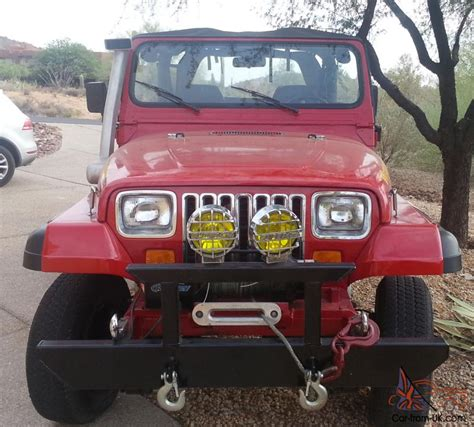 jeep yj snorkel 1989 jeep yj snorkel winch top axles no reserve