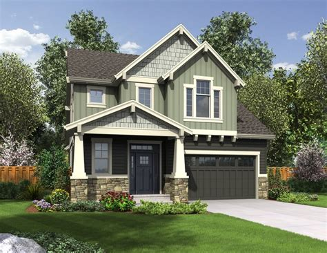 house plans with garage in front narrow house plans with front garage beach house plans