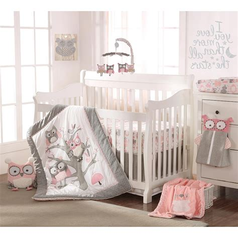 Crib Bed Sets For Boys Boy Owl Crib Bedding Sets Spillo Caves