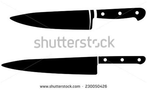 Large Kitchen Knives chef knife stockfotografier royaltyfria bilder och