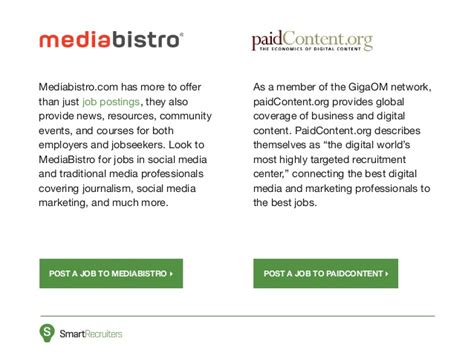events mediabistro jobs classes community and news bali property 10 best marketing job boards