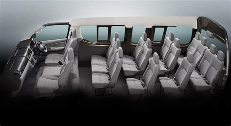 nissan urvan seat nissan ashok leyland to launch nv350 caravan in india