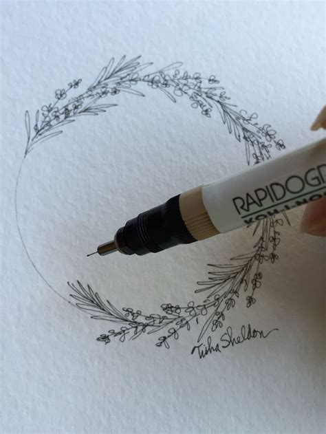 pen and ink tattoo 25 best ideas about floral drawing on draw