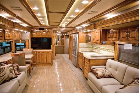 motor home interior pulling out all the stops motorhome magazine