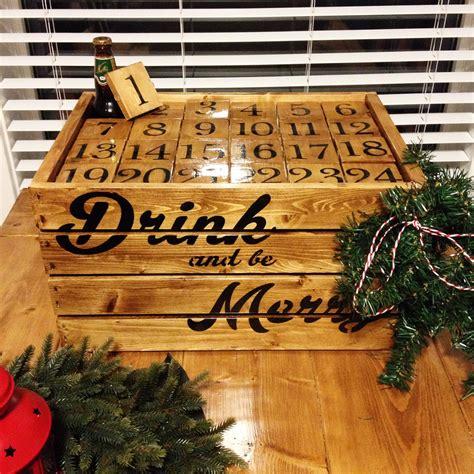 ways  diy   booze filled advent calendar  daily edge