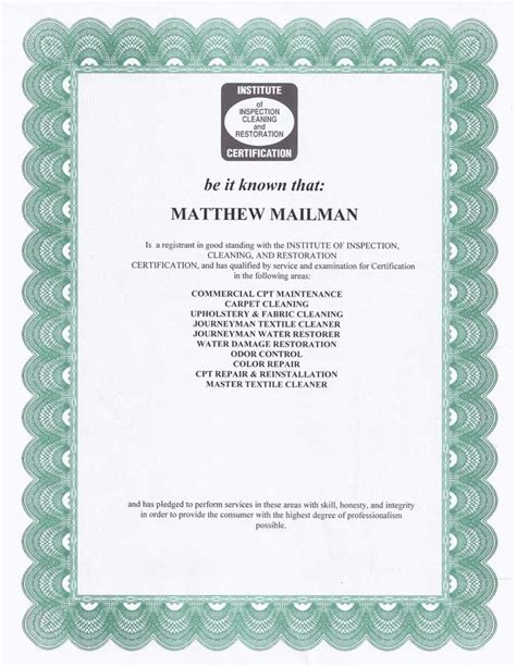 free carpet cleaning certification carpet vidalondon