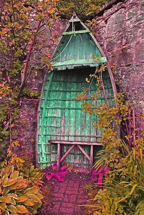 boat garden furniture ideas how to reuse old boats refurbished ideas