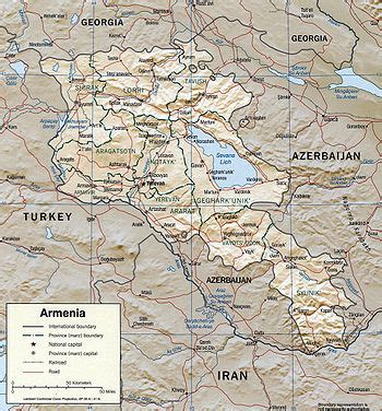 geography  armenia wikipedia
