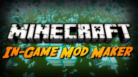 mod game maker minecraft mod review layman mod maker in game mod