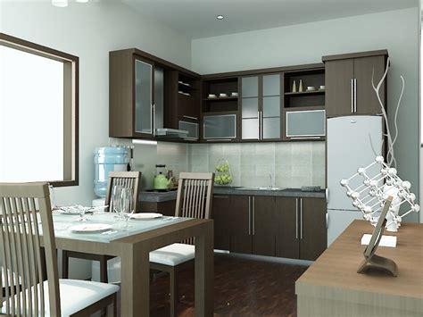 desain kitchen set minimalis modern interiordapurcom