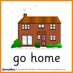 Go To House Is Daily Routine Flashcards