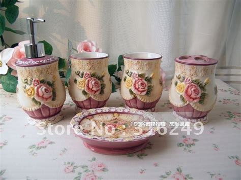 victorian bathroom fittings victorian style 5 pcs china ceramic bathroom accessories
