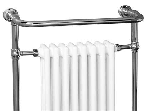 traditional bathroom heated towel rail column radiator