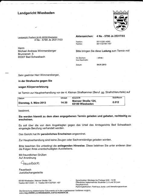 Zeugenaussage Schreiben Muster Scheinverfahren Ag Bad Schwalbach Lg Wiesbaden Gegen Michael Wimmersberger Stasi V3 0