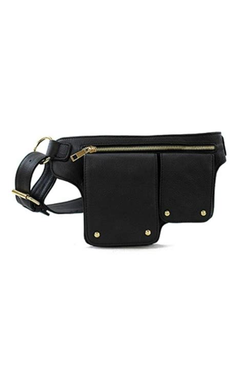 icco genuine leather belt bag from washington by unique