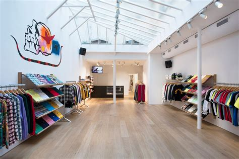 supreme shops brinkworth designs quot honed and clean quot interior for supreme