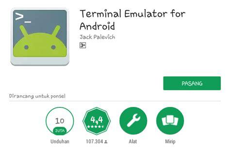 terminal emulator for android apk cara melakukan ping di android mymastah