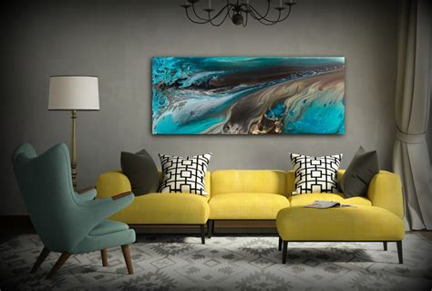 prints for home decor giclee prints abstract painting coastal home decor