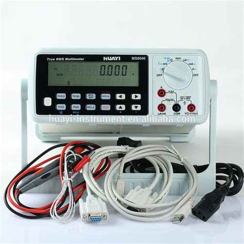 bench top multimeter 4 1 2 benchtop multimeter digital bench type multimeter ms8040 bench top usb