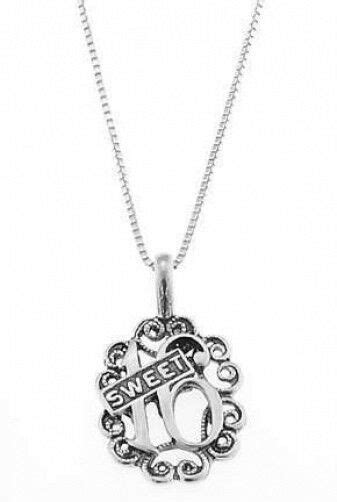 STERLING SILVER FILIGREE SWEET 16 - SWEET SIXTEEN CHARM