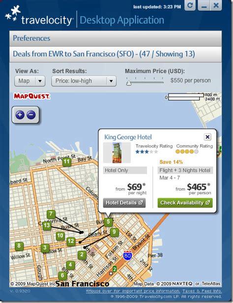 get notified when flight hotel prices drop desktop