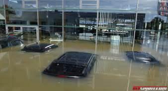 Jaguar Dealership Floods In Bayern Destroy Jaguar Landrover Dealership In