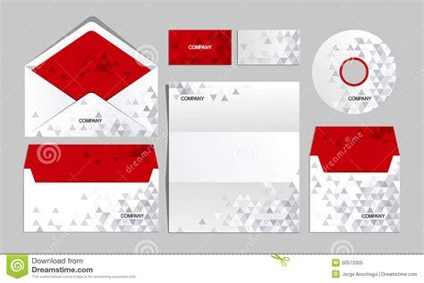 Origami Company - corporate origami identity template vector company