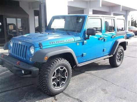 Jeep For Sale Utah New 2016 Jeep Wrangler Unlimited Rubicon 4x4 For Sale In