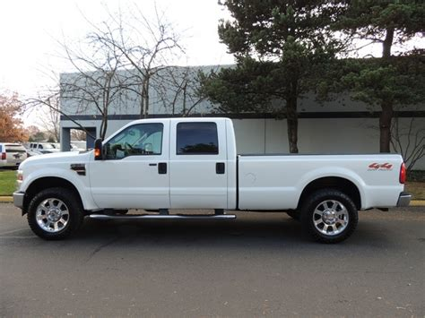 f250 long bed 2008 ford f 250 lariat 4x4 crew cab long bed turbo