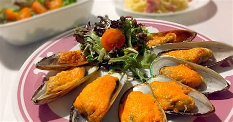 kewpie ntuc extremely easy and delicious air fried mussels with