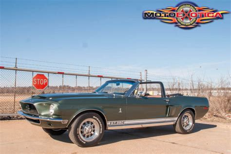 sle of eulogy 1968 shelby tribute for sale upcomingcarshq