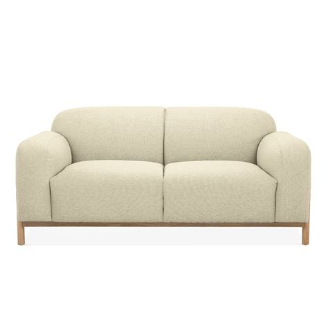 cult sofa beige fabric upholstered bergen 2 seater sofa modern sofas