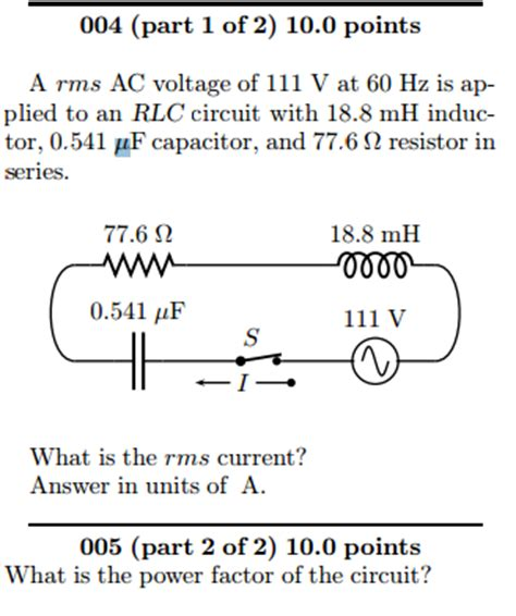 calculate the rms current through the capacitor at the resonance frequency calculate the current through the capacitor 28 images capacitors and calculus capacitors