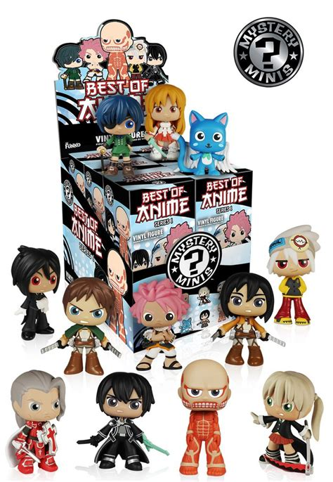 mystery minis blind box best of anime series 1 funko