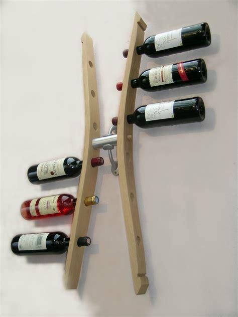 fabriquer support bouteille vin 3570 porte bouteilles mural porte bouteille design support