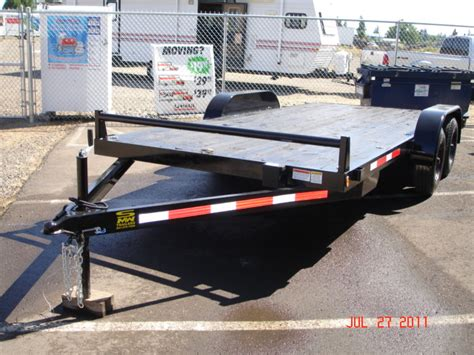 flat bed trailer rental rent our flatbed trailer for only 65 a day rv s storage for salem keizer or