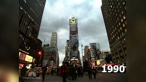 new year 1990 year of the throwback times square in 1990 nbc news
