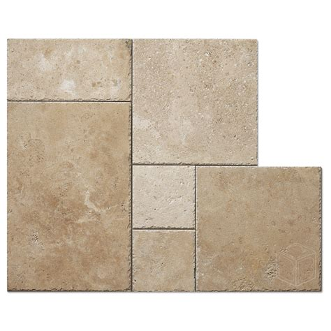 french pattern gold travertine tile white travertine french pattern tile bayyurt marble