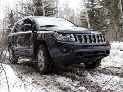 Jeep Compass Snow Jeep Compass In The Snow