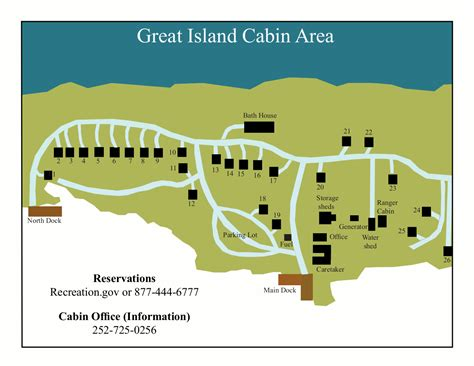 Great Island Cabin C by Cape Lookout Maps Npmaps Just Free Maps Period