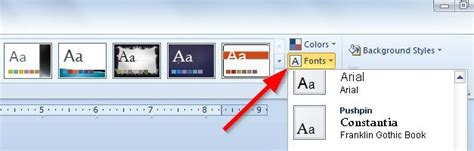 define themes in powerpoint 2010 create new theme fonts in powerpoint 2010