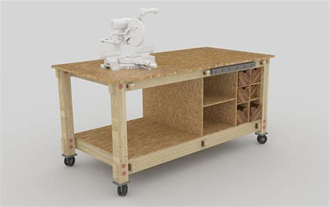 modular work benches 2012 project renders on behance