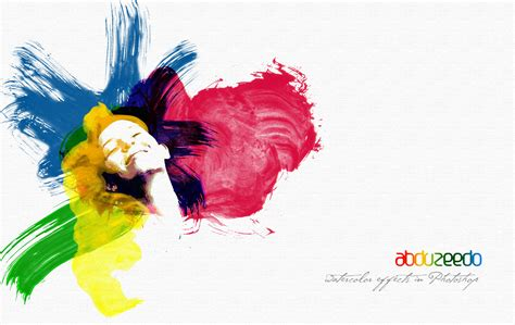 watercolor tutorial for photoshop watercolor effect in photoshop wallpaper