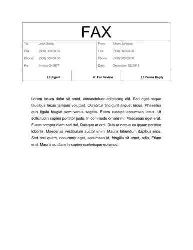 cover letter table 50 free fax cover sheet templates word pdf utemplates