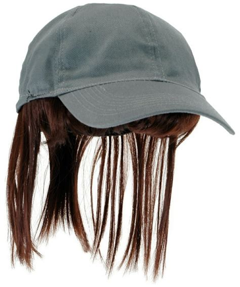 hats with attached bangs hats with attached bangs hats with attached bangs gray